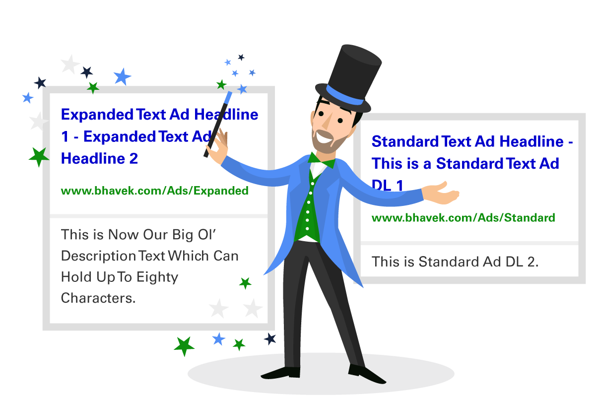 google expanded text ads differences